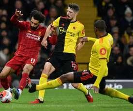 Un joueur de Watford s'emporte à son tour face aux accusations. AFP