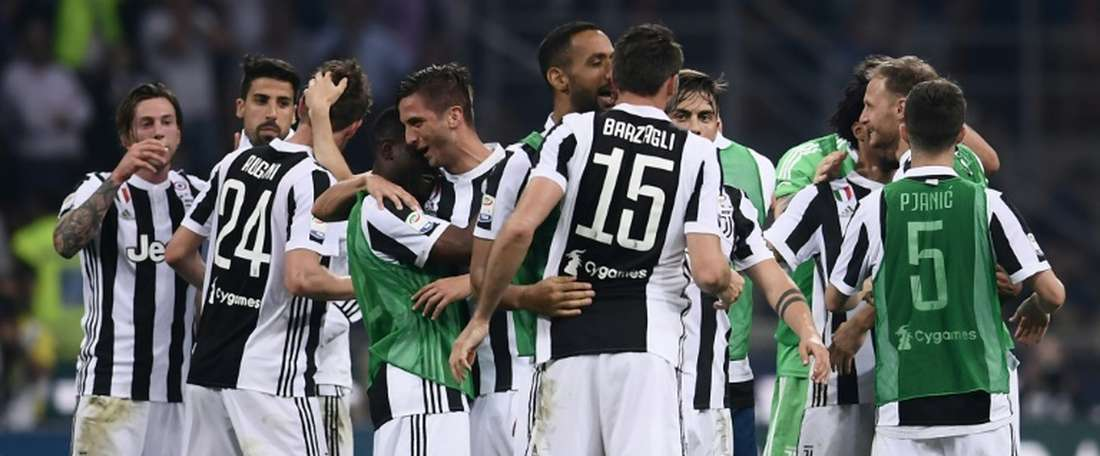 Juventus está muito perto de voltar a conquistar a Serie A. EFE