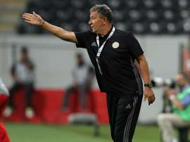 Henk ten Cate suggested his side need to park three buses in order to keep out Real Madrid. AFP