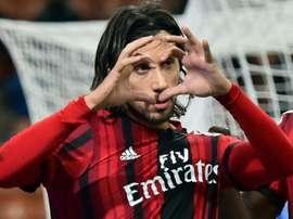 Cristian Zaccardo busca equipo a través de las redes sociales. AFP