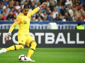 Areola was voted the Man of the Match on his international debut. AFP
