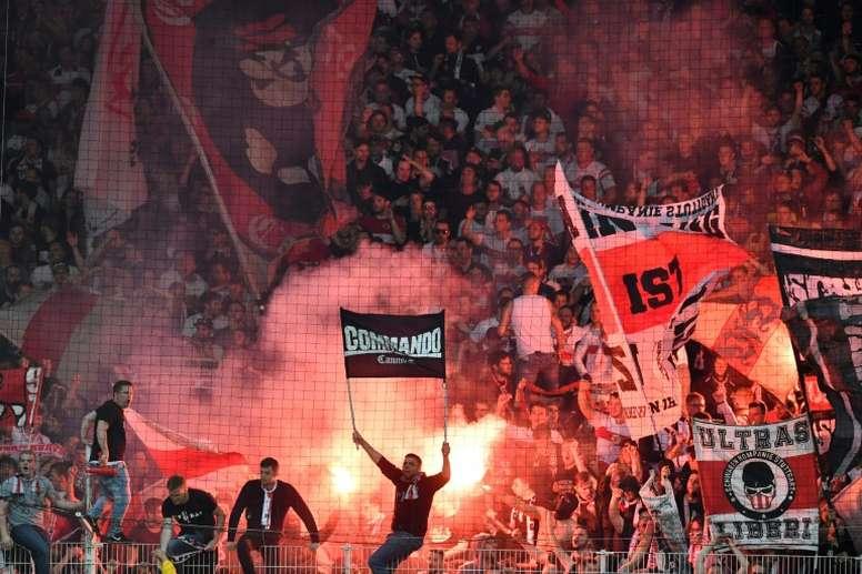 A Bundesliga vê complicado o retorno em 9 de maio. AFP