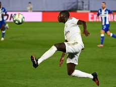 Real Madrid: Ferland Mendy, la chance de sa carrière ? AFP
