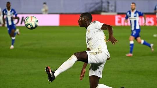 Real Madrid: Ferland Mendy, la chance de sa carrière ? AFP