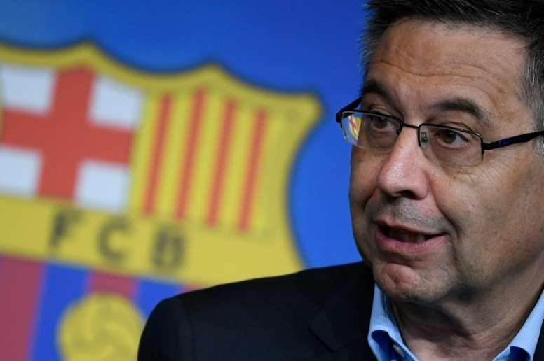 Bartomeu explicó la salida de Arthur. AFP