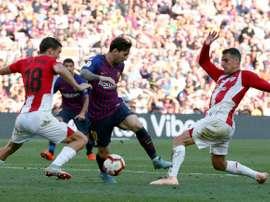 Le milieu de terrain de lAthletic Bilbao Oscar De Marcos buteur. Goal