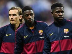 C1: Griezmann, Umtiti, Tolisso, Coman... Bleus à l'âme à Lisbonne ? AFP