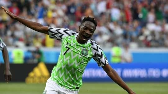 Ahmed Musa pourrait bien changer d'air. AFP