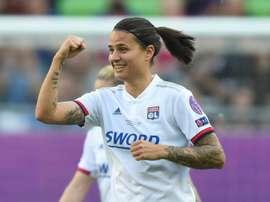 L'Allemande Dzsenifer Marozsan désignée meilleure joueuse de D1 féminine. AFP