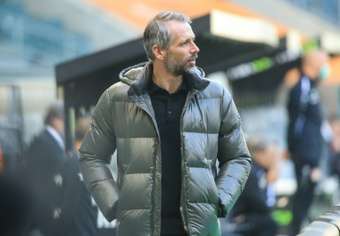 Marco Rose habló de Erling Haaland tras e partido ante el Bologna. AFP