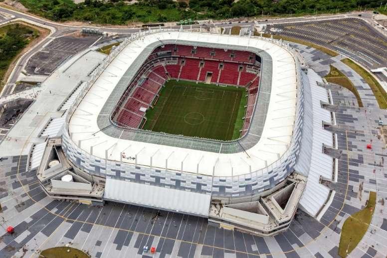 Arena Pernambuco será o palco do maior clássico sul-americano. AFP