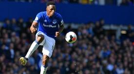 Valencia está de olho em zagueiro do Everton. AFP