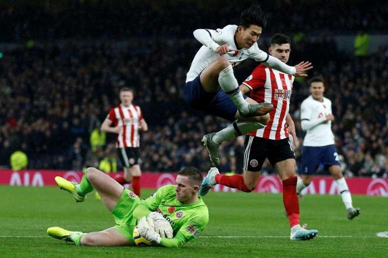 El Sheffield United tendrá que pagar la ficha de Henderson si quiere contar con él. AFP