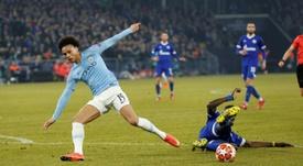 Weidenfeller crava Sané no Dortmund. AFP