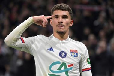 Le dernier match d'Aouar avec Lyon ?. afp