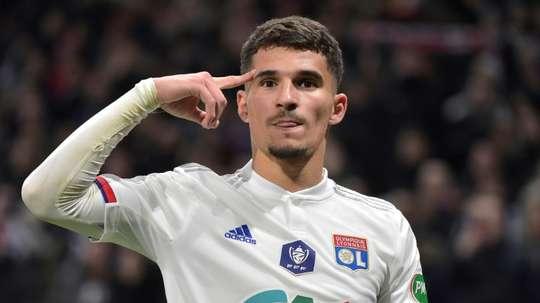 Chelsea et City s'immiscent dans la lutte pour Houssem Aouar. AFP