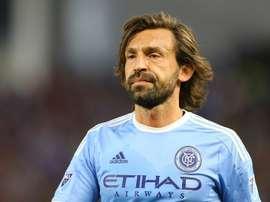 Pirlo fue titular y disputó los 90 minutos en la victoria de su equipo. AFP