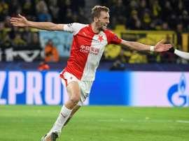 Le Tchèque Tomas Soucek prêté à West Ham. AFP