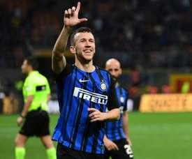 Perisic foi autor do segundo golo do Inter. EFE