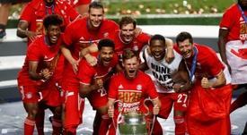 La UEFA quiere hacer de la Champions una Super Bowl. AFP
