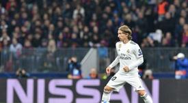 Modric acredita em mais uma Champions. AFP