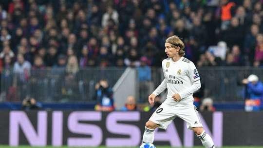 Luka Modric lleva varios meses en la órbita del Inter. AFP/Archivo
