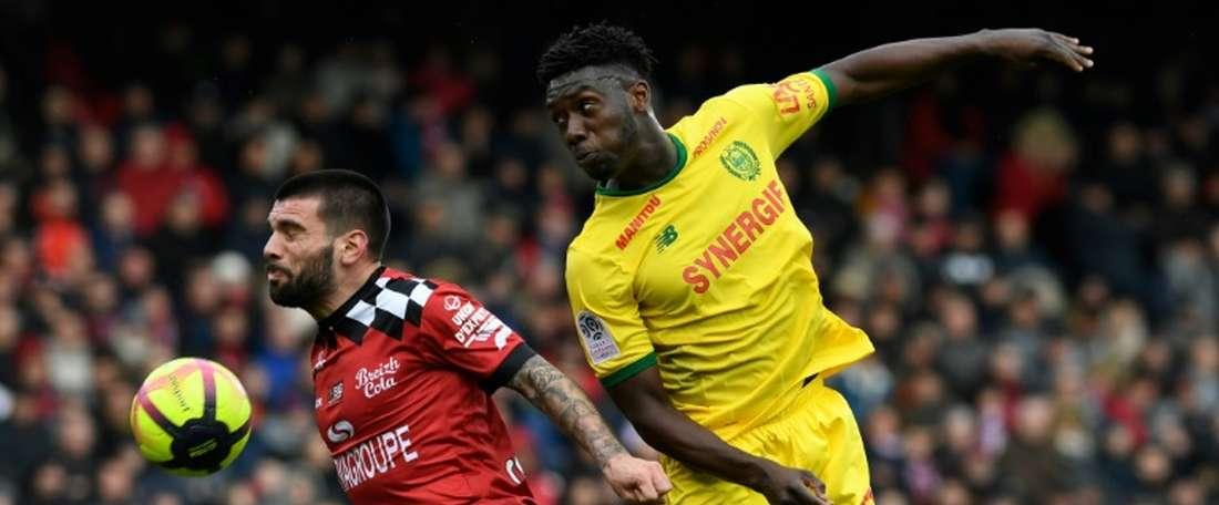 OFFICIEL : Le latéral de Nantes Kwateng s'engage avec Bordeaux. AFP