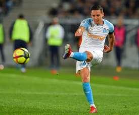 Florian Thauvin, lors du match de Ligue 1 à Bordeaux. AFP