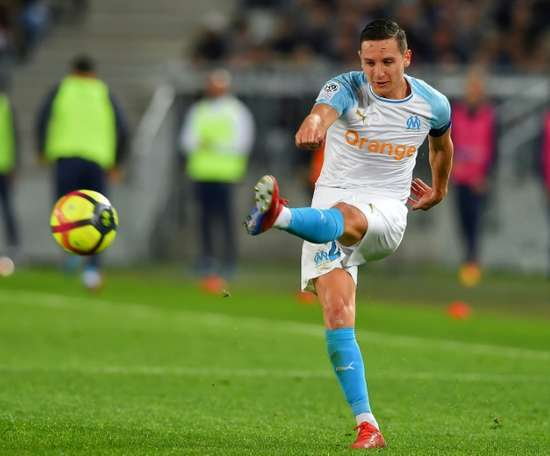 Thauvin, suivi de près par des clubs de Serie A. AFP