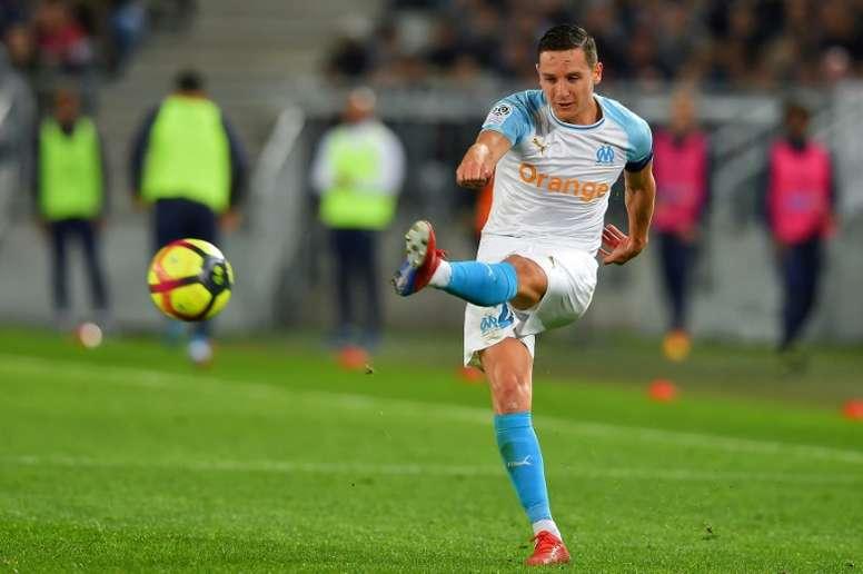 El Milan convence a Thauvin, pero falta el OM. AFP