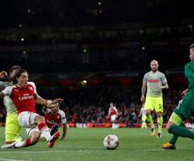 Arsenal came from behind at the Emirates. AFP