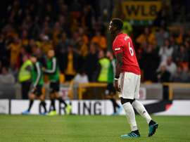 Pogba hasn't played since the 30th September and his future is up in the air. AFP