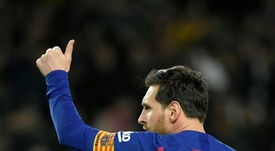 Lionel Messi revelou seu jogador preferido. AFP
