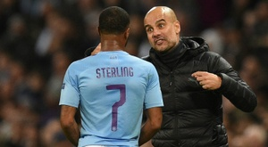 Comme Sterling, Guardiola veut rester à City. AFP