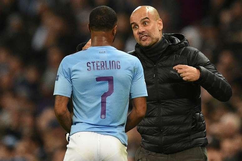 Comme Sterling, Guardiola veut rester à City. AFP