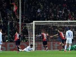 Le formazioni ufficiali di Udinese-Genoa. AFP
