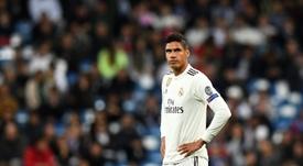 Varane pourrait quitter le Real Madrid. AFP
