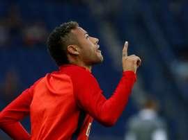 Le Brésilien Neymar, transféré du FC Barcelone au Paris SG à l'été 2017. AFP