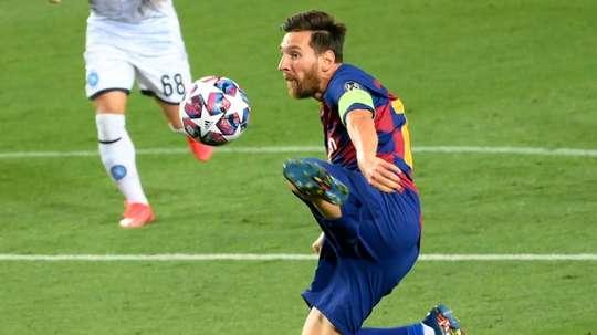 Não há motivos para o Barça se preocupar. AFP