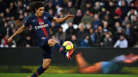 Cavani devrait accepter l'offre de l'Inter. AFP