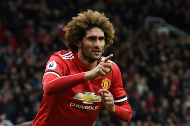 Martinez says Fellaini should be fit to face Chelsea on Saturday. AFP