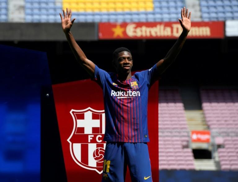 Maillot THIRD FC Barcelona O. Dembélé