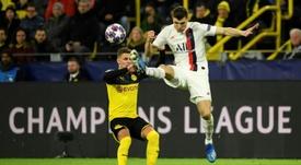 Dortmund prêt à laisser Meunier terminer la Ligue des champions avec le PSG. AFP
