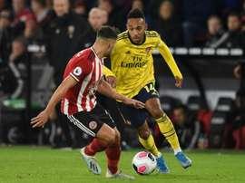 Les compos probables du match d'Europa League entre Arsenal et le Vitoria Guimaraes. AFP