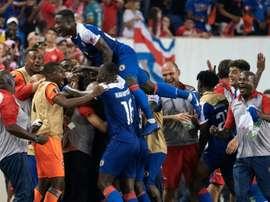 Haïti - Costa Rica, Gold Cup, 24/06/19. AFP