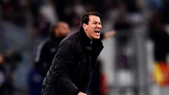 Rudi Garcia, lors d'un match de Ligue 1 face à Monaco. AFP