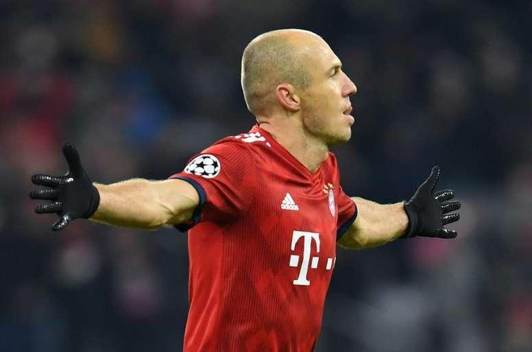 Robben, pretendido por sus ex. AFP