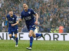 King believes Leicester can challenge on all fronts this season. AFP