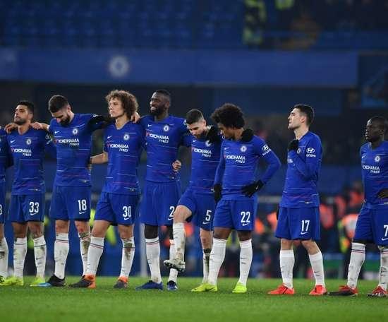 Trabzonspor veut chiper trois joueurs à Chelsea. AFP