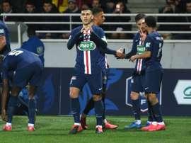 Leandro Paredes e Jorginho são as alternativas para o meio-campo da Juventus. AFP